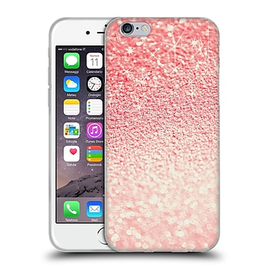 Official Monika Strigel Glitters Coral Soft Gel Case For Apple Iphone 6 / 6S
