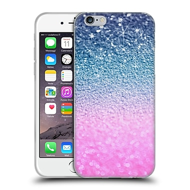 Official Monika Strigel Glitters Glamour Pink Night Soft Gel Case For Apple Iphone 6 / 6S