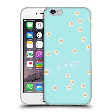 Official Monika Strigel Happy Daisy Aqua Soft Gel Case For Apple Iphone 6 / 6S