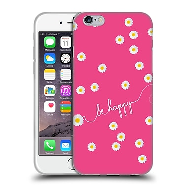 Official Monika Strigel Happy Daisy Hotpink Soft Gel Case For Apple Iphone 6 / 6S