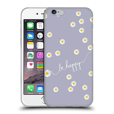 Official Monika Strigel Happy Daisy Lavender Soft Gel Case For Apple Iphone 6 / 6S