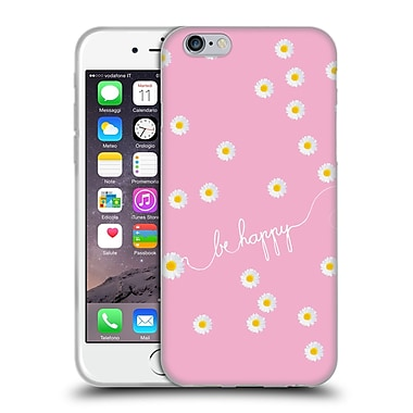 Official Monika Strigel Happy Daisy Pink Soft Gel Case For Apple Iphone 6 / 6S