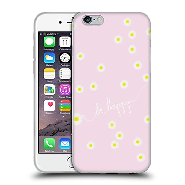 Official Monika Strigel Happy Daisy Softpink Soft Gel Case For Apple Iphone 6 / 6S