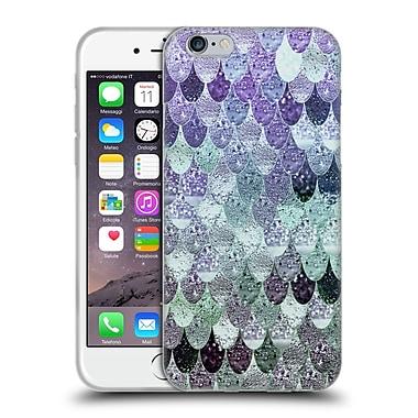 Official Monika Strigel Happy Mermaid Lavander Mint Soft Gel Case For Apple Iphone 6 / 6S