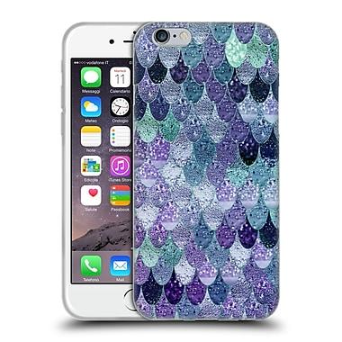 Official Monika Strigel Happy Mermaid Purple Soft Gel Case For Apple Iphone 6 / 6S
