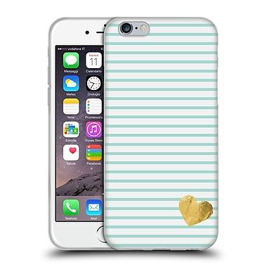Official Monika Strigel Little Heart Mint Soft Gel Case For Apple Iphone 6 / 6S