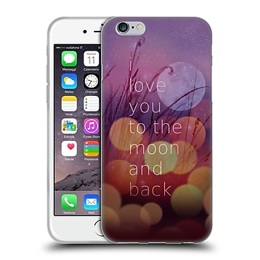 Official Monika Strigel Love Quote Light Soft Gel Case For Apple Iphone 6 / 6S