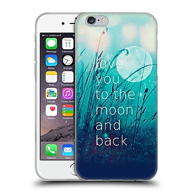 Official Monika Strigel Love Quote Mint Soft Gel Case For Apple Iphone 6 / 6S