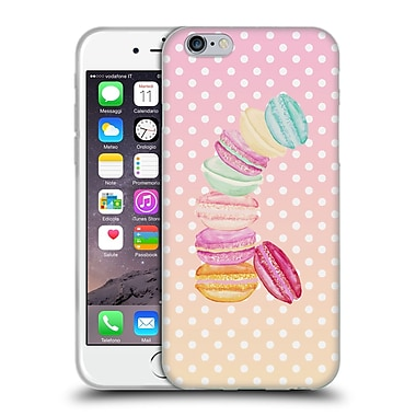 Official Monika Strigel Macarons Candy Soft Gel Case For Apple Iphone 6 / 6S