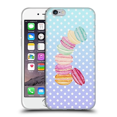 Official Monika Strigel Macarons Mint Soft Gel Case For Apple Iphone 6 / 6S