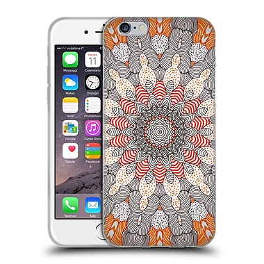 Official Monika Strigel Mandala Dots Soft Gel Case For Apple Iphone 6 / 6S