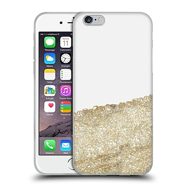 Official Monika Strigel Pretty Covered Gold Soft Gel Case For Apple Iphone 6 / 6S