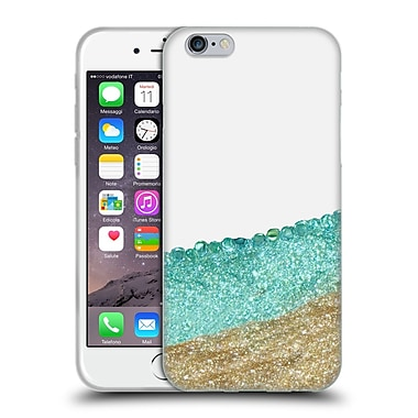 Official Monika Strigel Pretty Covered Mint Gold Soft Gel Case For Apple Iphone 6 / 6S