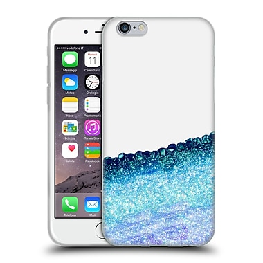 Official Monika Strigel Pretty Covered Ocean Blue Soft Gel Case For Apple Iphone 6 / 6S
