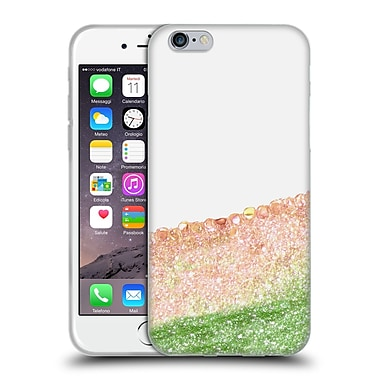 Official Monika Strigel Pretty Covered Peach Soft Gel Case For Apple Iphone 6 / 6S