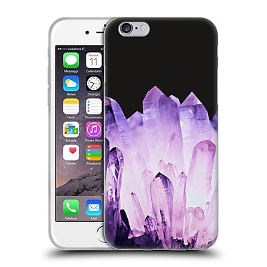 Official Monika Strigel Pure Crystal Purple Soft Gel Case For Apple Iphone 6 / 6S