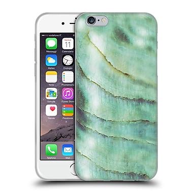 Official Monika Strigel Pastel Seashell Emerald Soft Gel Case For Apple Iphone 6 / 6S
