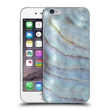 Official Monika Strigel Pastel Seashell Pearl Soft Gel Case For Apple Iphone 6 / 6S