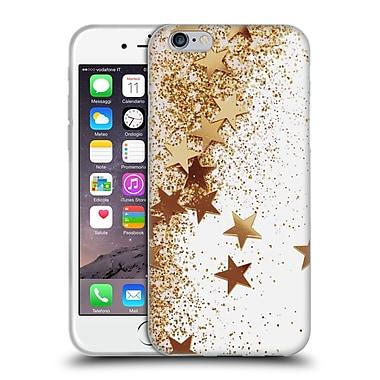 Official Monika Strigel Shaky Stars Gold Soft Gel Case For Apple Iphone 6 / 6S