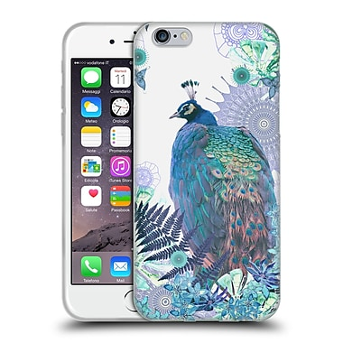 Official Monika Strigel Tropical Peacock Blue Soft Gel Case For Apple Iphone 6 / 6S