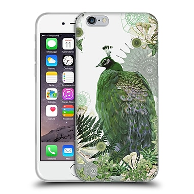 Official Monika Strigel Tropical Peacock Emerald Soft Gel Case For Apple Iphone 6 / 6S