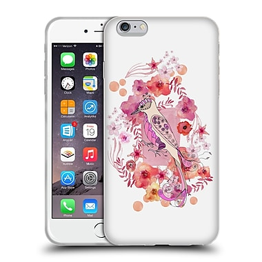 Official Monika Strigel Animals And Flowers Bird Soft Gel Case For Apple Iphone 6 Plus / 6S Plus