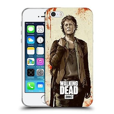 Official Amc The Walking Dead Distressed Illustrations Carol Soft Gel Case For Apple Iphone 5 / 5S / Se