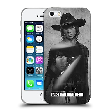 Official Amc The Walking Dead Exposure Carl Soft Gel Case For Apple Iphone 5 / 5S / Se