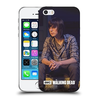 Official Amc The Walking Dead Filtered Characters Carl Soft Gel Case For Apple Iphone 5 / 5S / Se