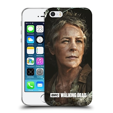 Official Amc The Walking Dead Filtered Characters Carol Soft Gel Case For Apple Iphone 5 / 5S / Se