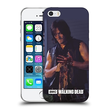 Official Amc The Walking Dead Filtered Characters Daryl Soft Gel Case For Apple Iphone 5 / 5S / Se