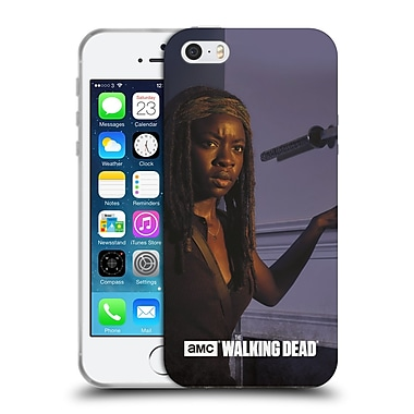 Official Amc The Walking Dead Filtered Characters Michonne Soft Gel Case For Apple Iphone 5 / 5S / Se