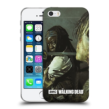 Official Amc The Walking Dead Filtered Characters Michonne Katana Soft Gel Case For Apple Iphone 5 / 5S / Se