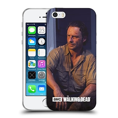 Official Amc The Walking Dead Filtered Characters Rick Soft Gel Case For Apple Iphone 5 / 5S / Se