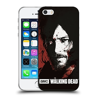 Official Amc The Walking Dead Gore Blood Bath Daryl Soft Gel Case For Apple Iphone 5 / 5S / Se