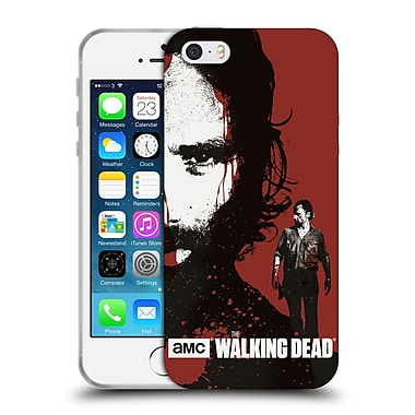 Official Amc The Walking Dead Gore Bloody Face Rick Soft Gel Case For Apple Iphone 5 / 5S / Se