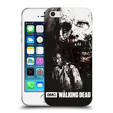 Official Amc The Walking Dead Gore Morgan And Lurker Soft Gel Case For Apple Iphone 5 / 5S / Se