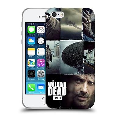 Official Amc The Walking Dead Logo Key Art Vertical Soft Gel Case For Apple Iphone 5 / 5S / Se