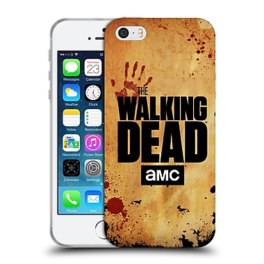 Official Amc The Walking Dead Logo Stacked Soft Gel Case For Apple Iphone 5 / 5S / Se