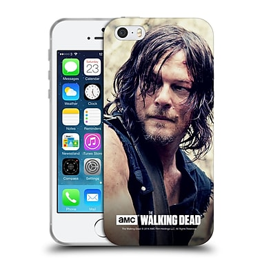 Official Amc The Walking Dead Daryl Dixon Half Body Soft Gel Case For Apple Iphone 5 / 5S / Se