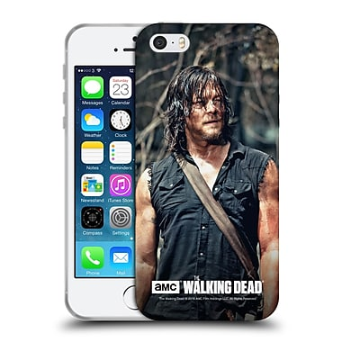 Official Amc The Walking Dead Daryl Dixon Look Soft Gel Case For Apple Iphone 5 / 5S / Se