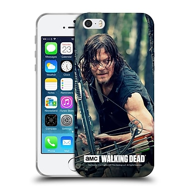 Official Amc The Walking Dead Daryl Dixon Lurk Soft Gel Case For Apple Iphone 5 / 5S / Se