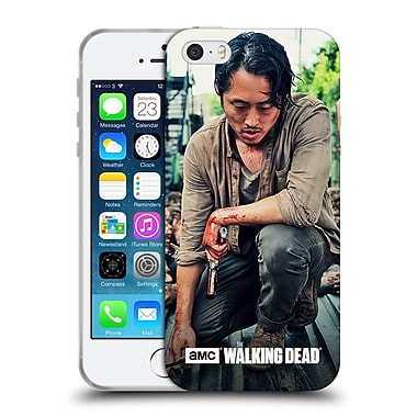 Official Amc The Walking Dead Glenn Rhee Bloody Hands Soft Gel Case For Apple Iphone 5 / 5S / Se