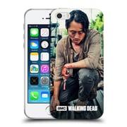 Official Amc The Walking Dead Glenn Rhee Bloody Hands Soft Gel Case For Apple Iphone 5 / 5S / Se