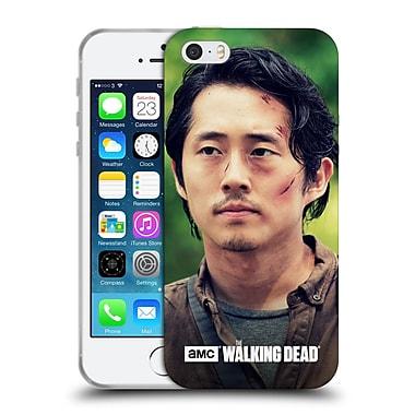 Official Amc The Walking Dead Glenn Rhee Face Soft Gel Case For Apple Iphone 5 / 5S / Se