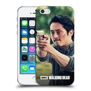 Official Amc The Walking Dead Glenn Rhee Pointing Gun Soft Gel Case For Apple Iphone 5 / 5S / Se
