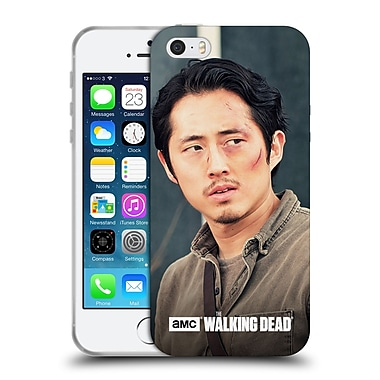 Official Amc The Walking Dead Glenn Rhee Looking Sideways Soft Gel Case For Apple Iphone 5 / 5S / Se