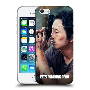 Official Amc The Walking Dead Glenn Rhee Deep In Thought Soft Gel Case For Apple Iphone 5 / 5S / Se