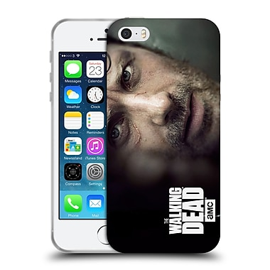 Official Amc The Walking Dead Key Art Rick Soft Gel Case For Apple Iphone 5 / 5S / Se