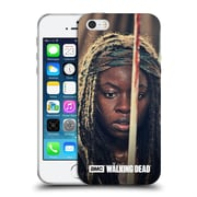 Official Amc The Walking Dead Michonne Bloody Sword Soft Gel Case For Apple Iphone 5 / 5S / Se